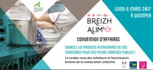 affiche convention d'affaires breizh alimo