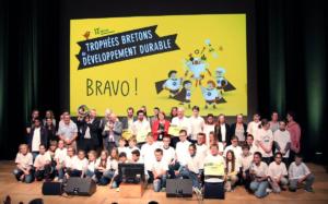 photo au trophées bretons du développement durable