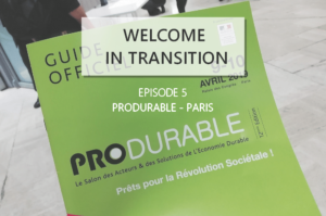Welcome in transition 5 Produrable RSE